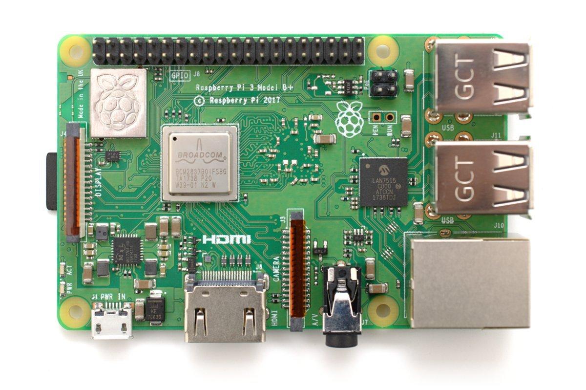 NeeGo Raspberry Pi 3 B+ (B Plus) Starter Kit – Pi 3 Model B Barebones Computer Motherboard with 64bit Quad Core CPU & 1GB RAM, 2.5A Power Supply & Heatsink 2-Pack by NeeGo (Image #5)