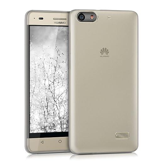 38 opinioni per kwmobile Cover per Huawei G Play Mini- Custodia protettiva ultra sottile in
