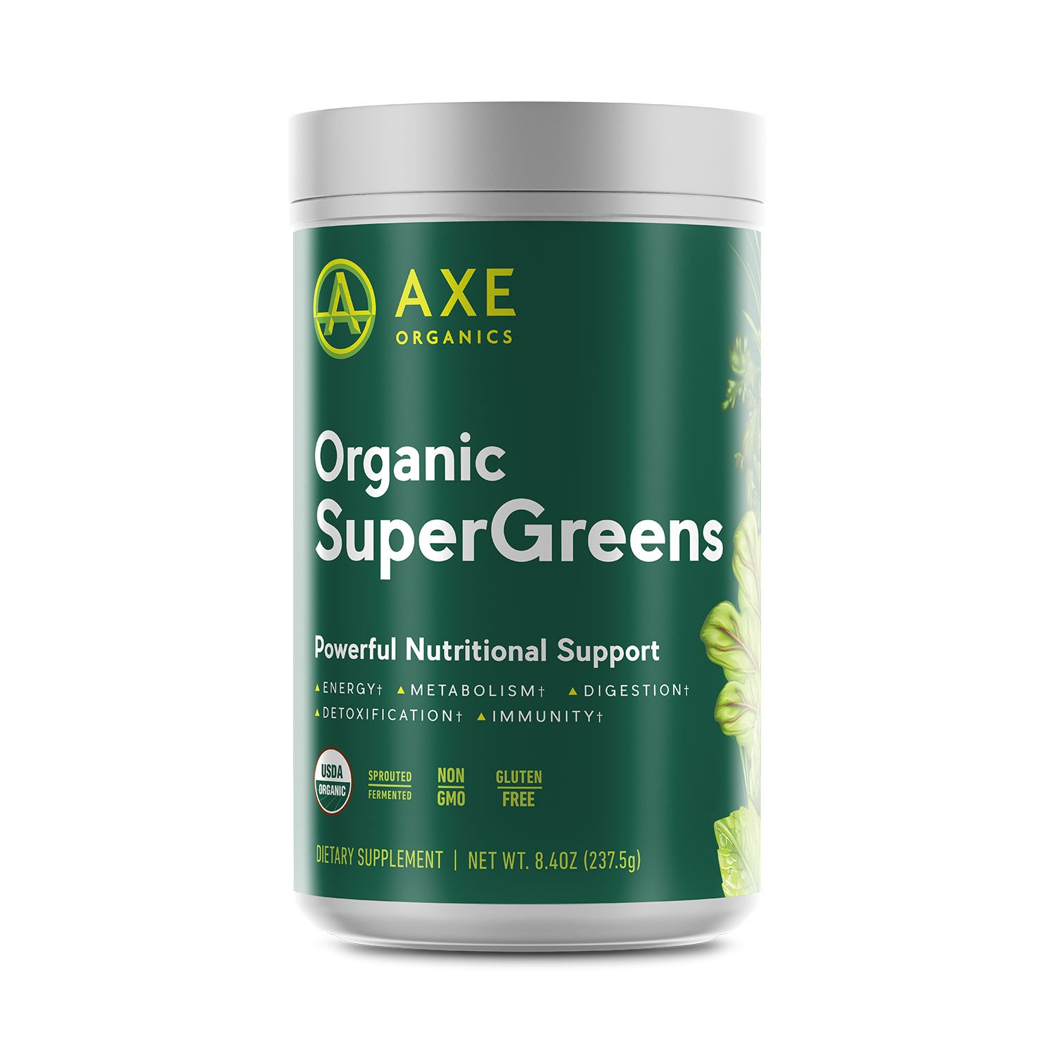 Organic SuperGreens Powder from Axe Organics — by Dr. Axe