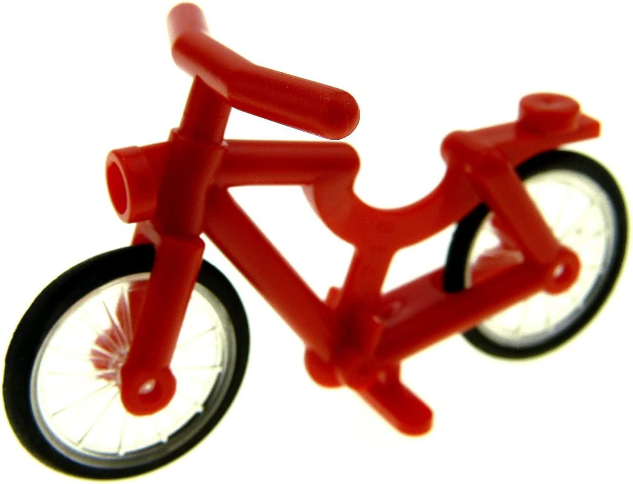 LEGO - Una Bicicleta roja: Amazon.es: Juguetes y juegos
