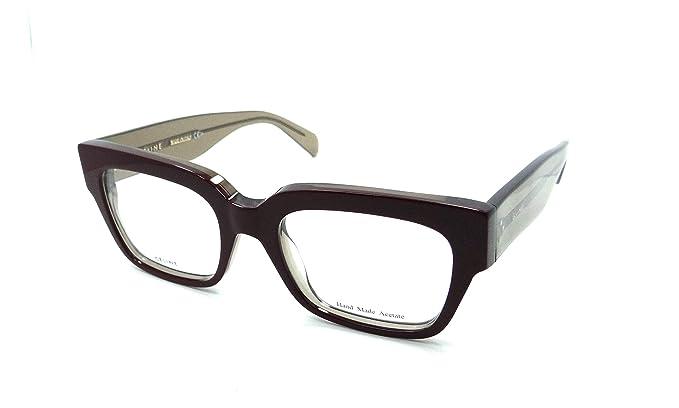 31a46736fd5 Celine Montures de lunettes Pour Femme 41352 V - NIB  Bordeaux   Mud ...