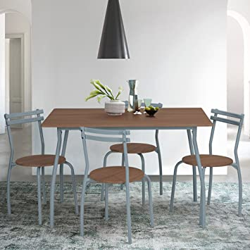 Innovareds Dinning set tavolo e sedia da pranzo set di 1 pezzi Set ...