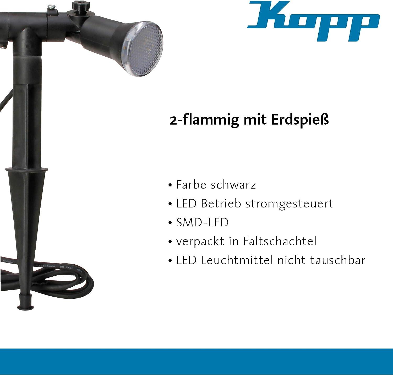 Kopp Spot 2/luci LED da giardino con picchetto 145351018