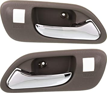 Exterior Outside Door Handle Front Rear Driver Passenger Kit Set of 4 for Accord