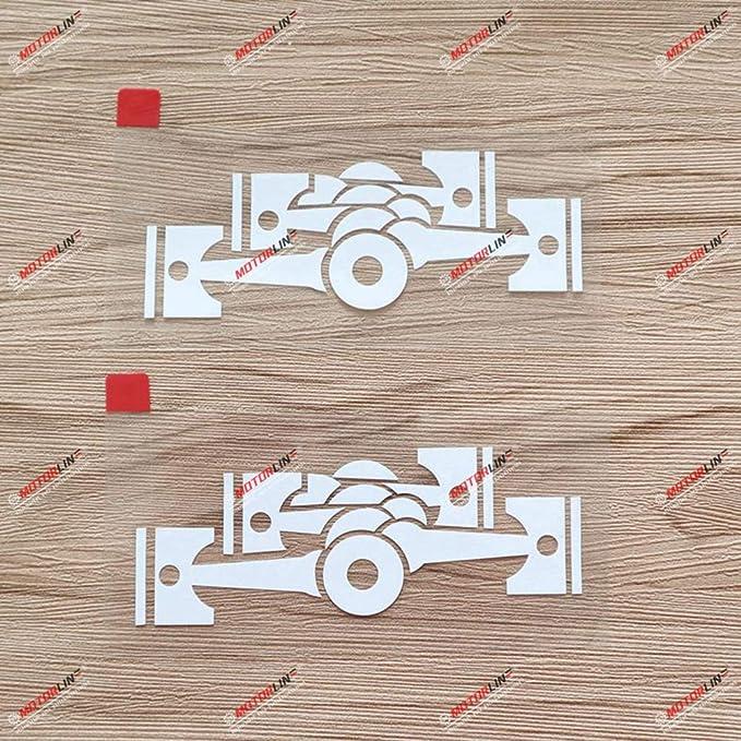 Aufkleber Für Subaru Brz Wrx Sti Jdm 10 2 Cm Flach Vinyl Weiß 2 Stück Küche Haushalt