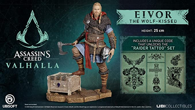 Assassins Creed Valhalla Eivor Male Figurine Amazon Co Uk Pc