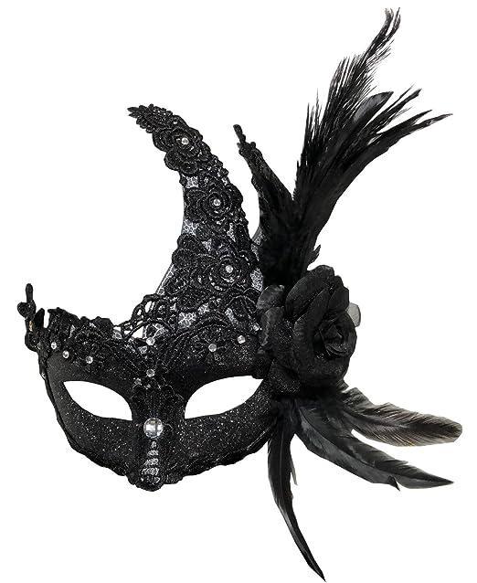 Amazon.com: Máscara de disfraz Mardi Gras Halloween máscara ...