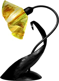 product image for Jezebel Signature TLLD-B-LP14-BUT Lily Style Black Lazy Daisy Lamp, Buttercup