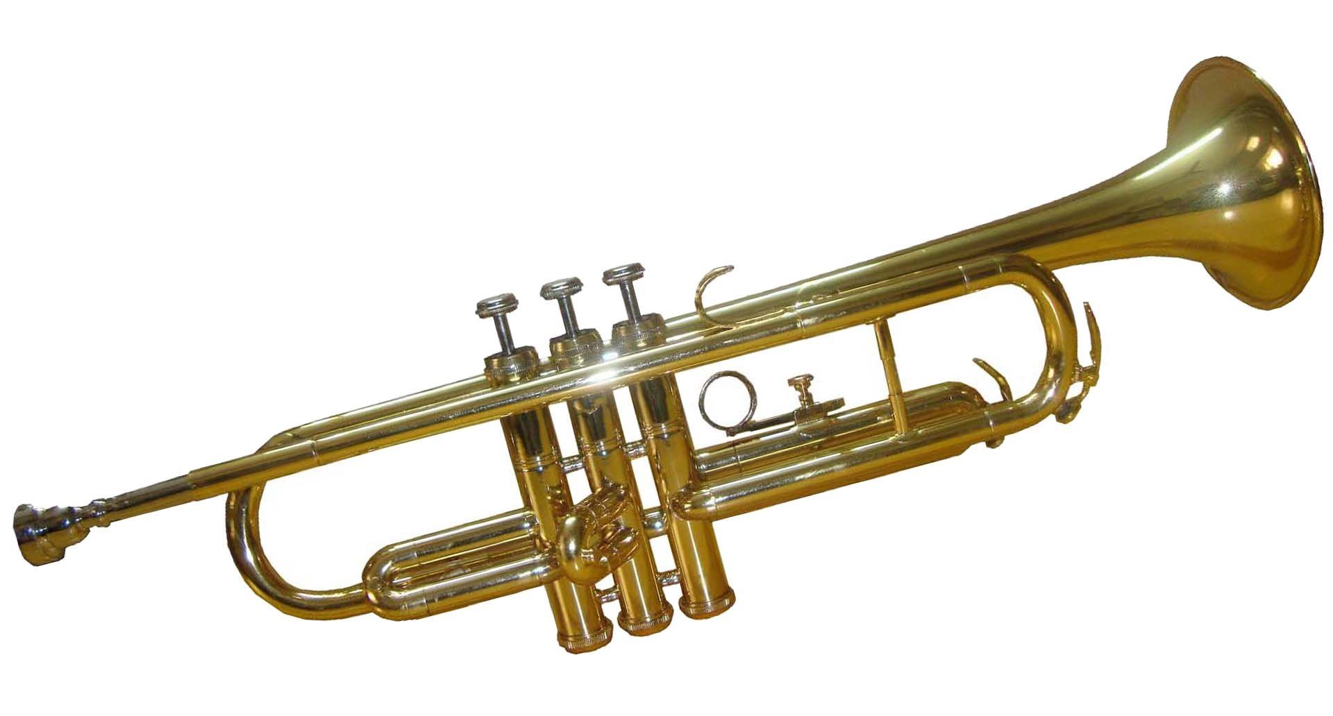Shreyas Bb Flat Brass Finishing Trumpet With Free Hard Case+Mouthpiece