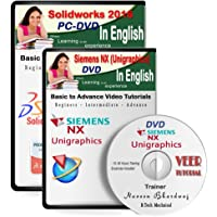 Veer Tutorial Unigrahics (Siemens NX 9) + Solidworks 2016 Video Training (2 DVDs, 24 Hrs Training) in English