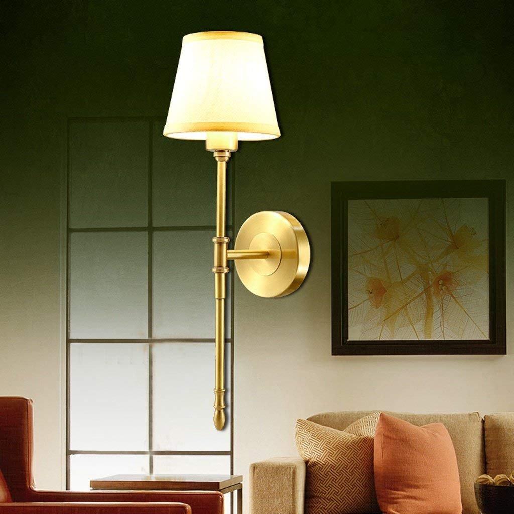 DSJ Wandleuchte Europäischen Wohnzimmer Leuchten Alle Kupfer Lampen Schlafzimmerleuchten Nachttischlampen Nachttischlampen Nachttischlampen Gang Korridor Lichter B07GF333JG   Verrückter Preis, Birmingham  46172a