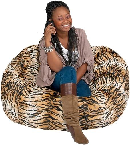 Editors' Choice: Cozy Sack Bean Bag Chair: Large 4 Foot Foam Filled Bean Bag Large Bean Bag Chair