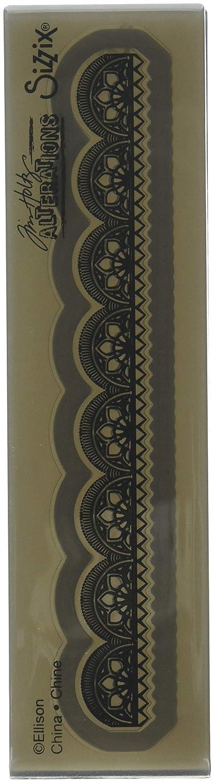 Sizzix 3-D Cartella di Goffratura Impresslits Mini Provinciale di Tim Holtz, Multicolore, Taglia Unica Ellison 662769