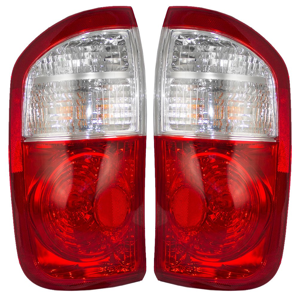 Driver and Passenger Taillights Tail Lamps Replacement for Toyota Pickup Truck 815600C040 815500C040 4333004298