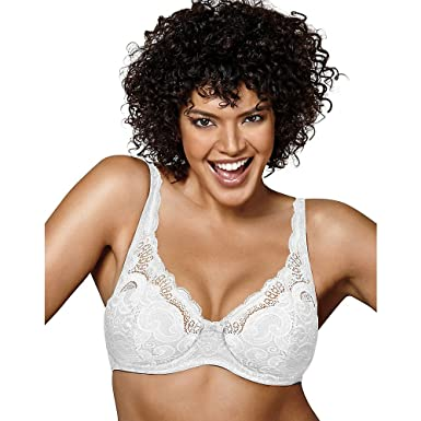 583da9a2a74 Playtex Love My Curves Beautiful Lift Lightly Lined Underwire Bra at Amazon  Women s Clothing store