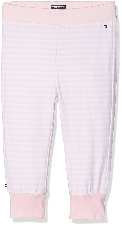 Tommy Hilfiger Stripe Jersey Baby Pant, Pantalon De Sport Bébé Fille KN0KN00698