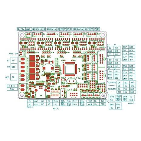 Aibecy Accesorios de impresora 3D Pantalla táctil WiFi a todo ...