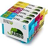JARBO Compatibles Epson 27XL Cartouches d'encre Grande Capacité Compatible avec Epson Workforce WF 3620 3640 7610 7620 7110 Imprimante (2 Cyan,2 Magenta,2 Jaune)