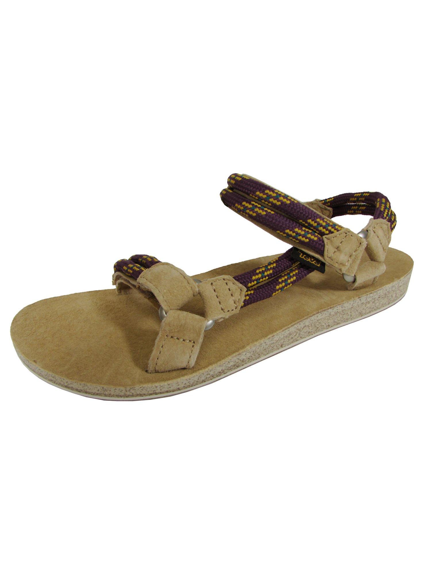 Teva Womens Original Universal Rope Sport Sandal Shoes, Dark Purple, US 11