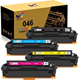 ONLYU Compatible Toner Cartridge Replacement for Canon 046 046H for Color ImageCLASS MF735Cdw LBP654Cdw MF731Cdw MF733Cdw Las