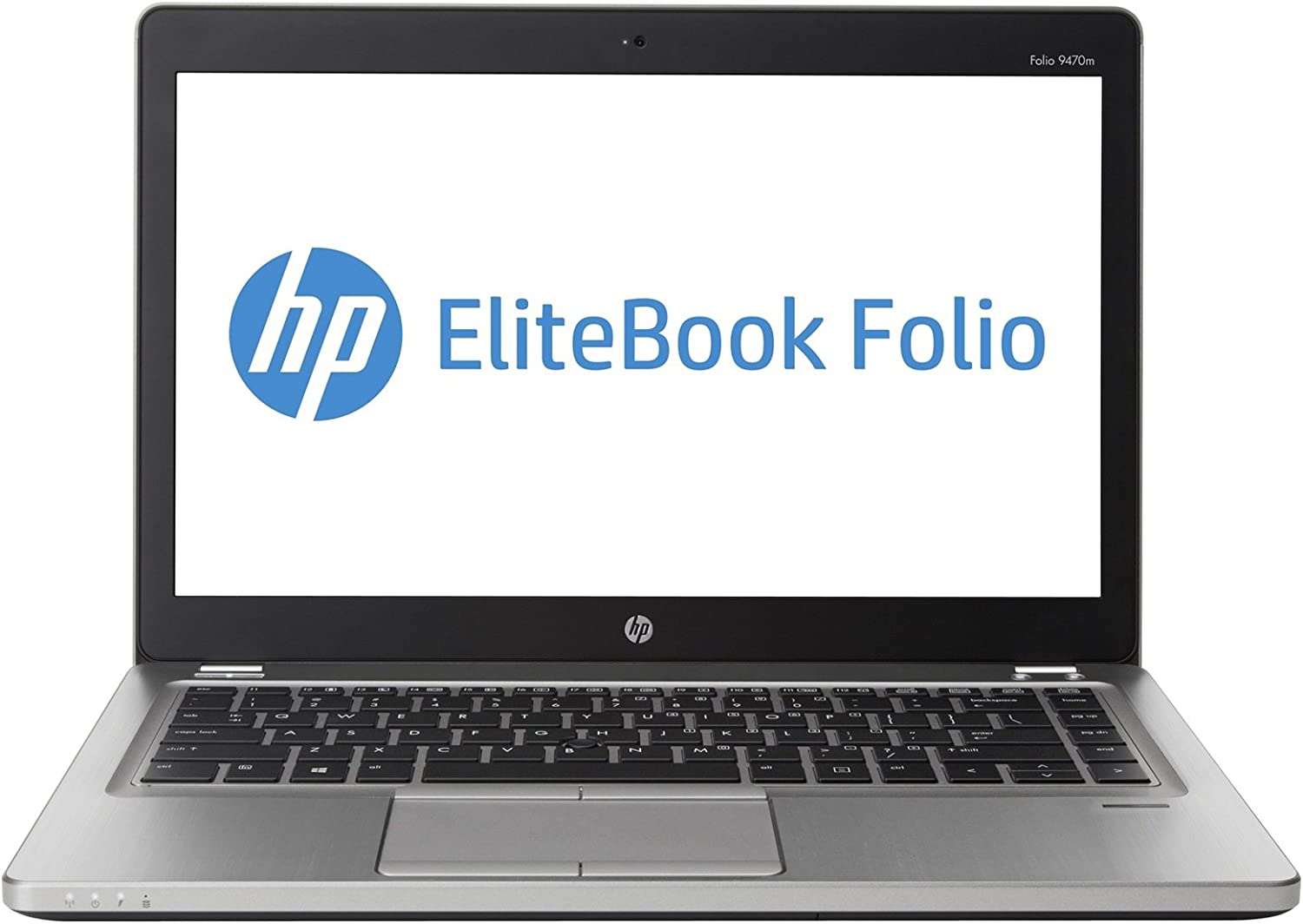 HP EliteBook Folio 9470M 14in LED-backlit HD Business Laptop Computer, Intel Dual-Core i7-3667U Up to 3.2Ghz, 8GB RAM, 256GB SSD, VGA, Webcam, Windows 10 Professional (Renewed)