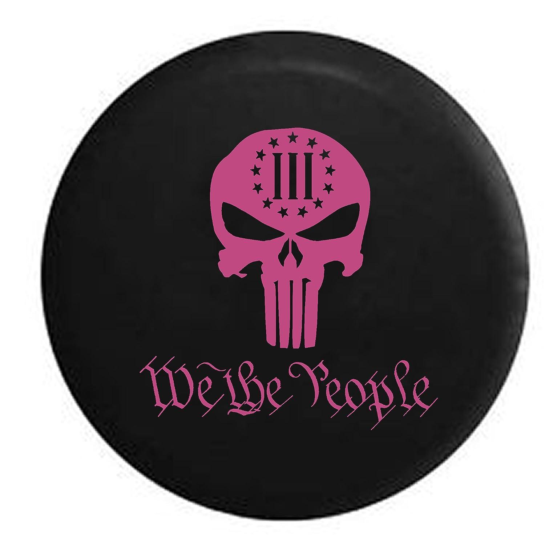 We the PeopleパニッシャースカルConstitutional 3 %自由スペアタイヤカバーOEMビニール 32