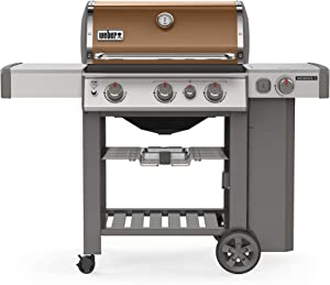 Weber 61022001 Genesis II E-330 3-Burner Liquid Propane Grill, Copper