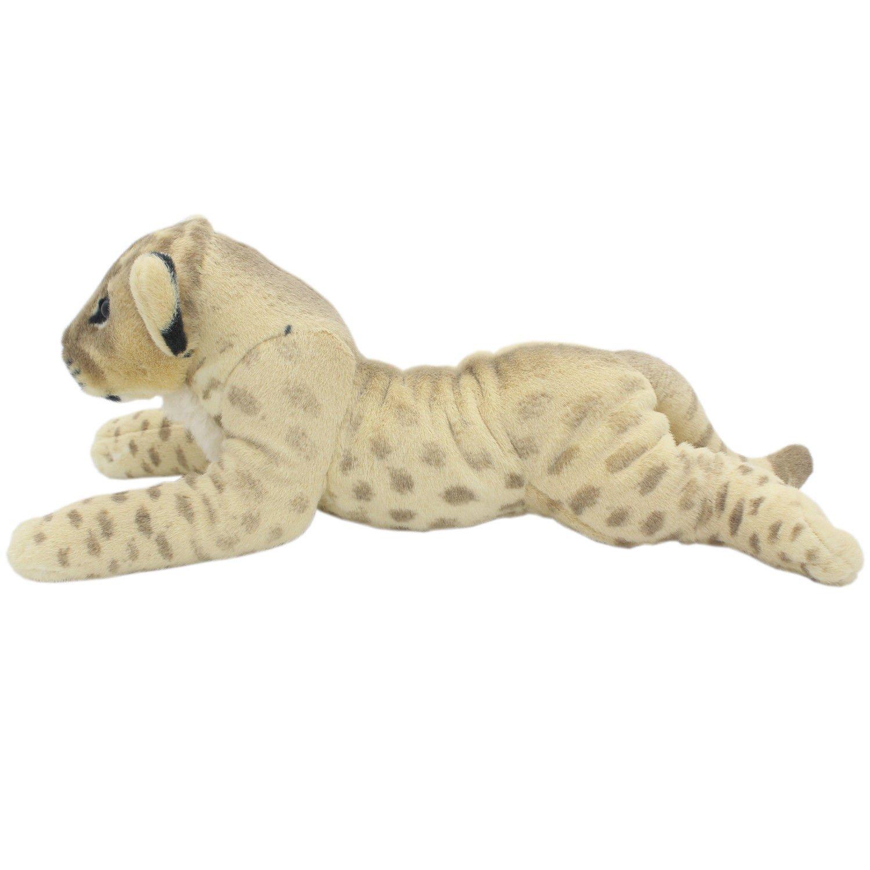 TAGLN Lifelike Stuffed Animals Toys Lion Lioness Plush Pillows for Kids 24 Inch