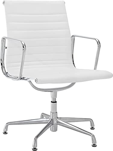 Modway Ribbed Mid Back Conference Office Side Chair