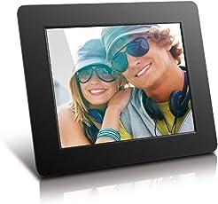 Aluratek (ADPF08SF) 8 Inch Digital Photo Frame - Black