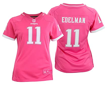 ... navy blue strobe nfl jersey bc032 97bd7  sweden outerstuff nfl youth  girls new england patriots julian edelman 11 jersey pink medium 310de 49892 ce085bd0f