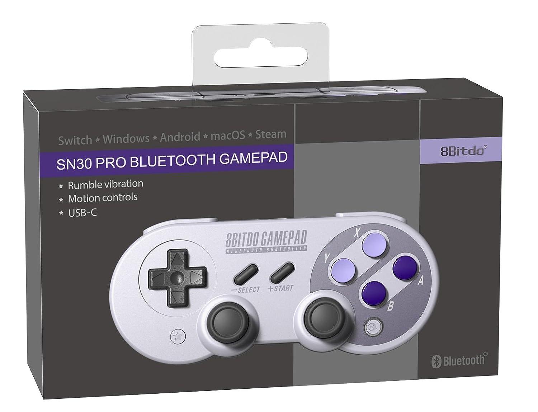 8Bitdo SN30 PRO Bluetooth Gamepad: 8bitdo com: Amazon co uk
