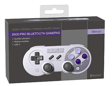 8Bitdo SN30 PRO Bluetooth Gamepad: 8bitdo com: Amazon co uk: PC
