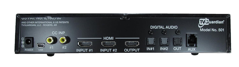 tv guardian. amazon.com: tvguardian hd model 501 - foul language tv and dvd profanity filter: electronics tv guardian g