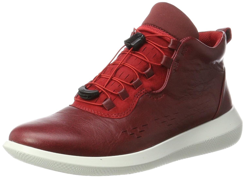 Ecco Scinapse, Zapatillas Altas para Mujer 37 EU Rojo (Chili Red/Chili Red)