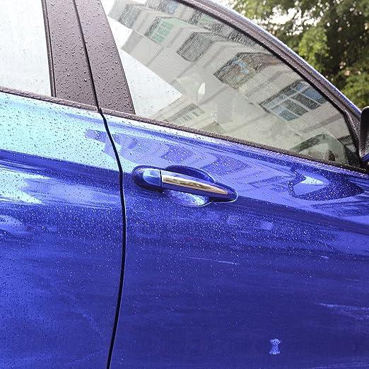 4pcs acero inoxidable cromo puerta mango cubierta Trim tiras para 1 3 Series X3 X5 X6 F30 F25 - Accesorios: Amazon.es: Coche y moto