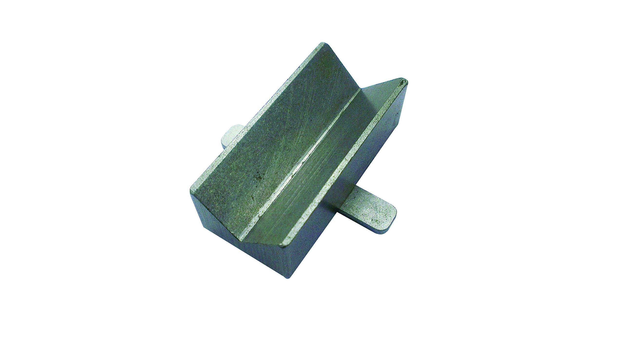 Robert Sorby # PEVB Proedge V Block Gouge Jig Fits Proedge Sharpening System for Sharpening Lathe Gouges and Carving Chisels