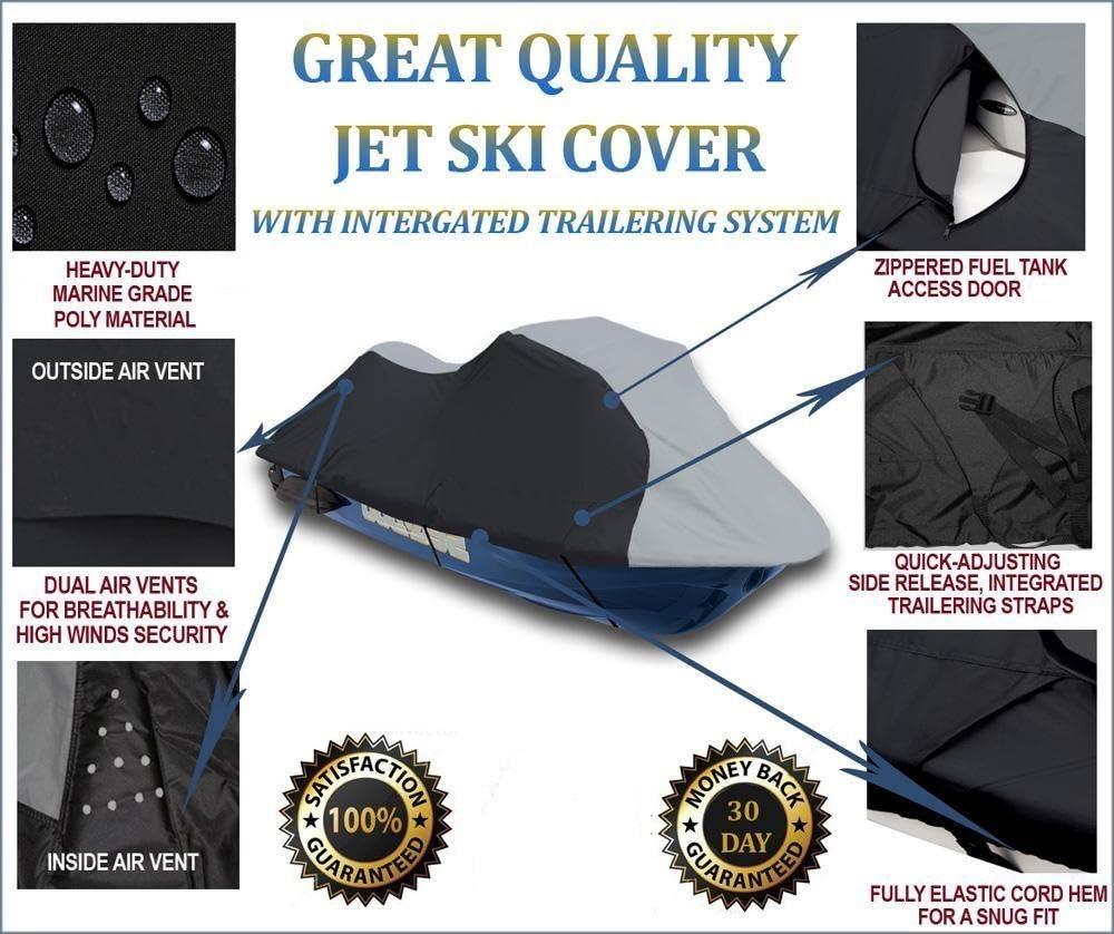 760 1996-1997 1-2 Seat JetSki Jet SKi PWC Cover Yamaha Wave Blaster II 750