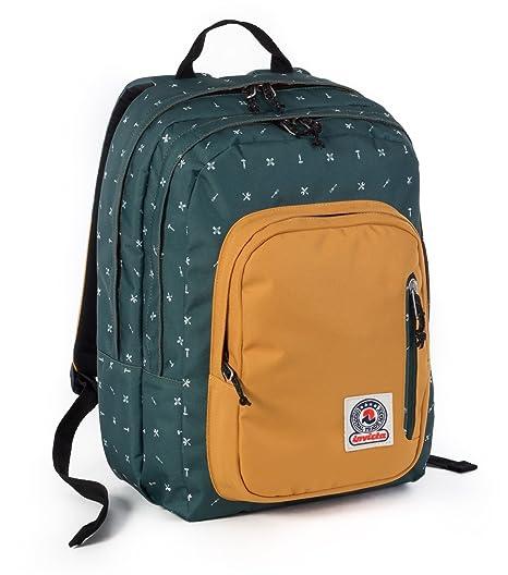 89c178a7de ZAINO INVICTA - FLIP - Verde Giallo Fantasy - tasca porta pc e Tablet padded  -