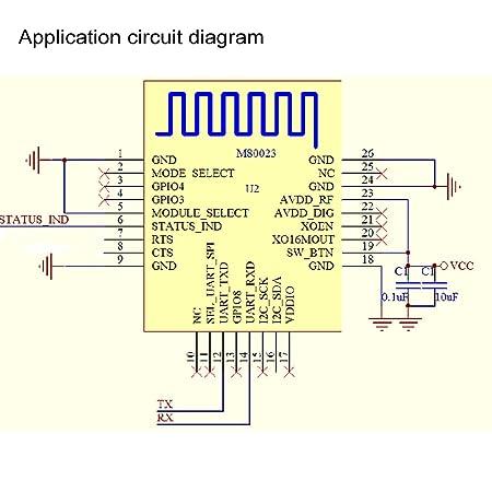 Amazon Makerfocus DXBT16 42 Bluetooth Serial Port Wireless – Kedsum Bluetooth Wiring Diagram