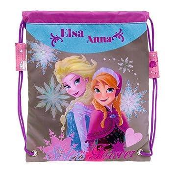 Bolsa merienda Frozen Disney Sisters Forever: Amazon.es ...