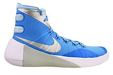 abc41edfaeb Image Unavailable. Image not available for. Color  Nike Mens Hyperdunk 2015  TB Basketball Shoes University Blue Ice ...