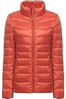 Faston ライト ダウン ジャケット レディース 超軽量 カジュアル 防寒 暖かい 秋 冬 ウルトラライト ジャケット コート16XKYYK