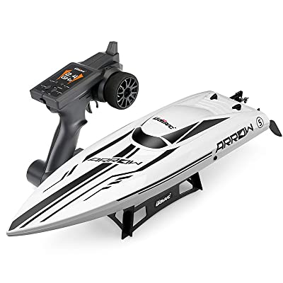 Cheerwing RC Racing Boat Large Brushless Remote Control Boat 30mph High Speed for Adults Kids: Toys & Games