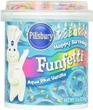 Pillsbury Funfetti Frosting - Aqua Blue - 15.6 Ounces