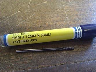 "ULTRA Carbide Jobber Drill #54 0.0550/"" 118° TiN 51154"