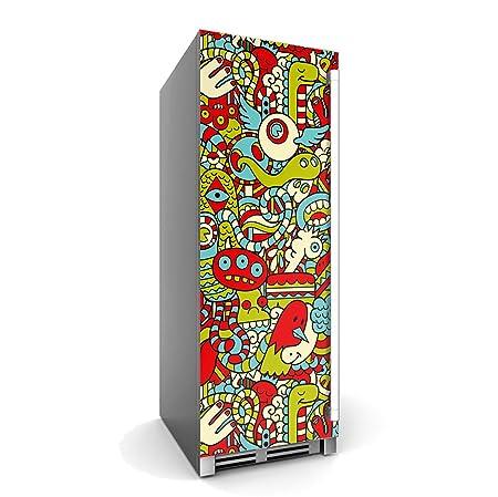 Deco design wrap vinyl sticker for fridge 60x150 cm kitchen poster deco design wrap vinyl sticker for fridge 60x150 cm kitchen poster do it yourself solutioingenieria Gallery