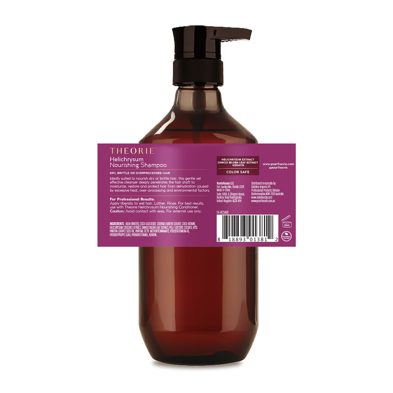 Amazon.com : Theorie Helichrysum Nourishing Shampoo, 13.5 fl.oz ...