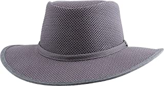 product image for Head 'N Home Handmade Hats - SolAir Brand Cabana Steel (Gunsmoke) Breathable Mesh Sun Hat - Size Small