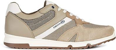 Geox Chaussures de Sport pour Hommes U Wilmer B en Toile Grise U923XB 01422 C9AF4